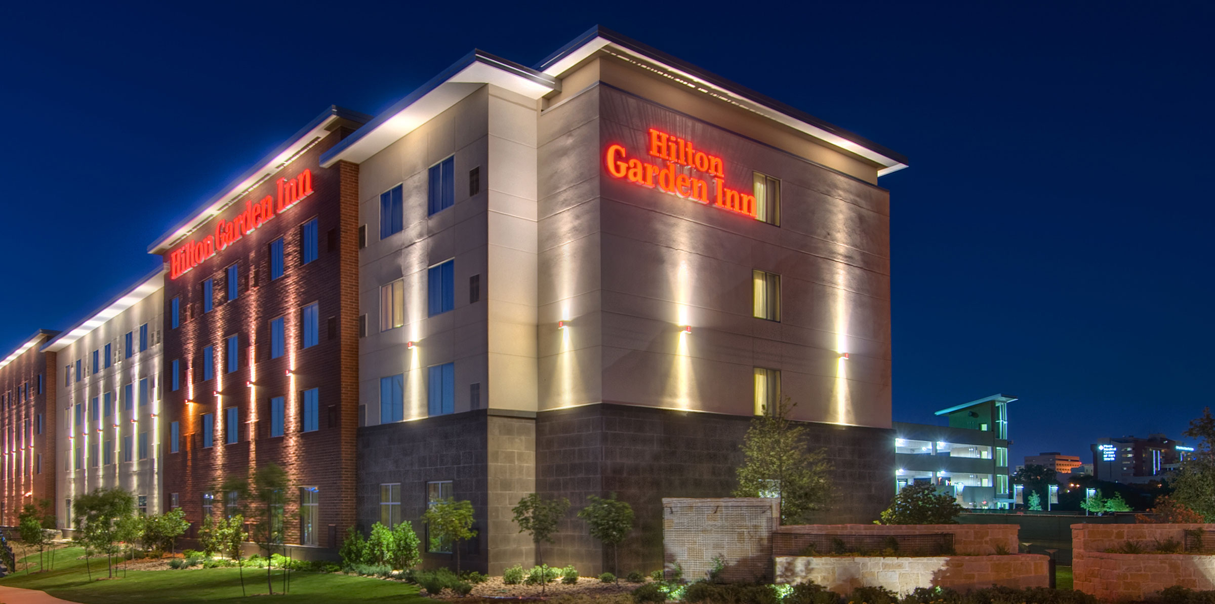 Hilton Garden Inn Ft Worth Tx Gba Architecture And Design